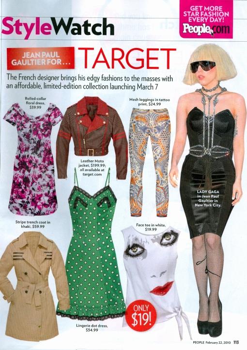 Lady Gaga Fishnet Tights