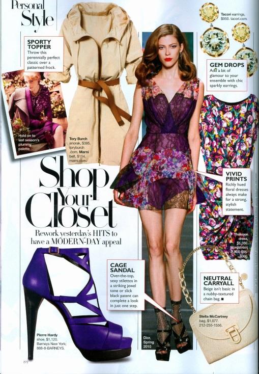 Harper's Bazaar style